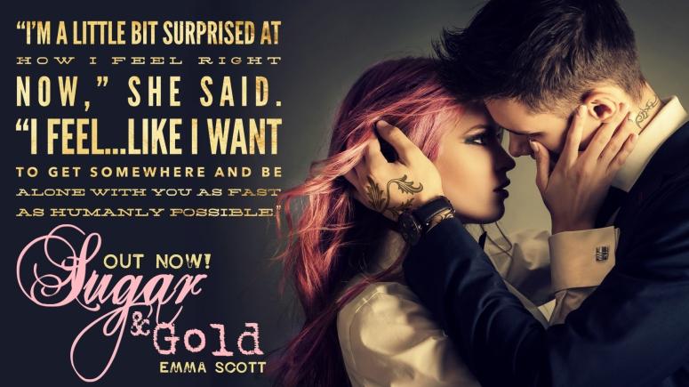 Sugar & Gold BlogTourTeaser